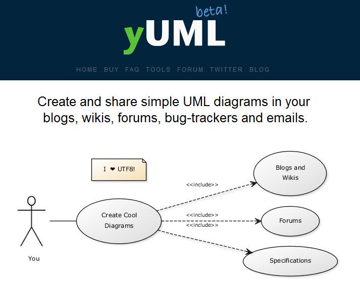 yUML home page