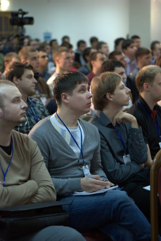 Разработчик на конференции